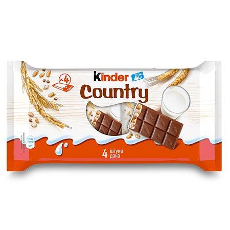 Шоколад Kinder со злаками с молочно-злаковой начинкой, 4*20г