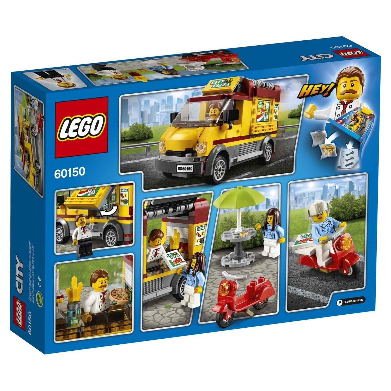 Конструктор lego city great vehicles фургон-пиццерия