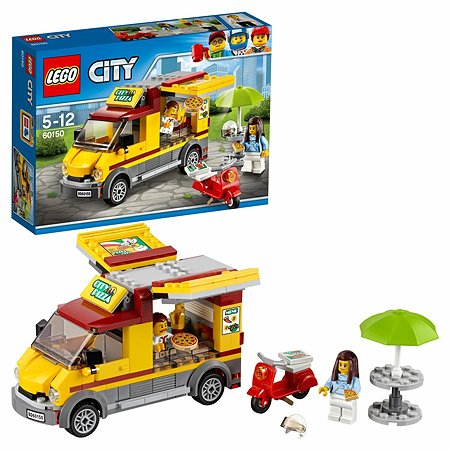 Конструктор LEGO City Great Vehicles Фургон-пиццерия (60150)