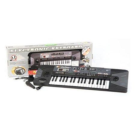 Пианино MQ с микрофоном и радио