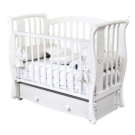 Кровать детская Красная Звезда (Можга) Ярослава С551 белый