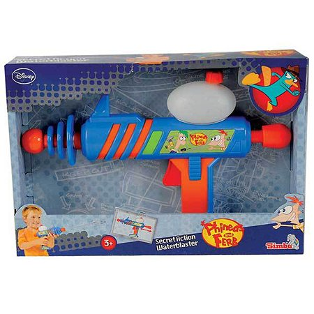 Водное оружие Simba Финнес и Ферб 30 см