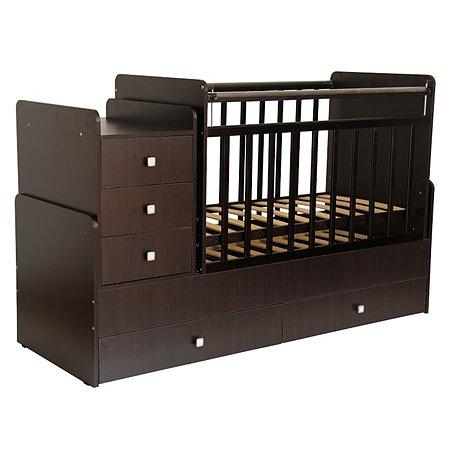 Кровать детская Фея 1100 Венге 0001033.4