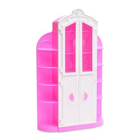 Сервант для куклы Огонек Розовый