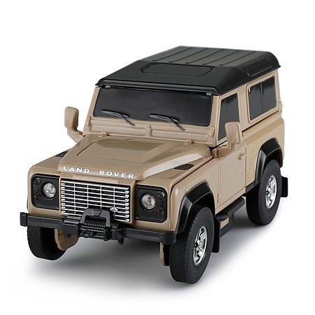 Машина Rastar 1:32 Land Rover Defender Трансформер Желтый 62010