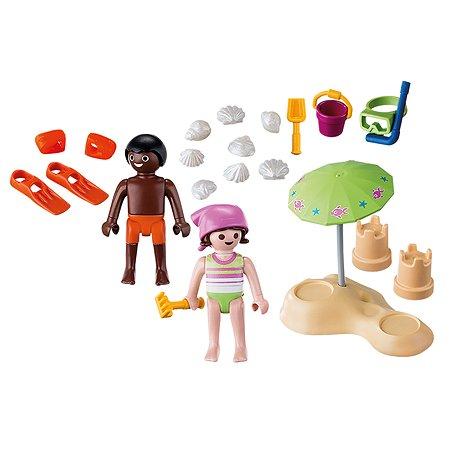 Конструктор Playmobil Дети на пляже 9085pm