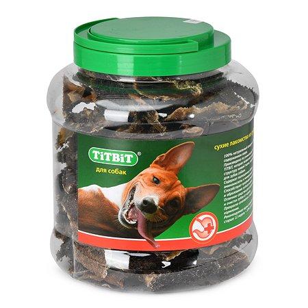 Лакомство для собак TITBIT Рубец говяжий туба 4.3 л