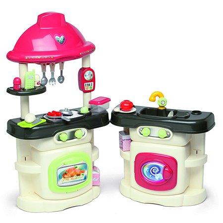 Кухня Chicos комбинированная со стиральной машинкой