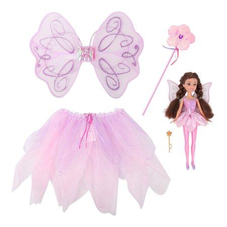 Набор игровой Sparkle Girlz Сказочный наряд с куклой Розовый 24059