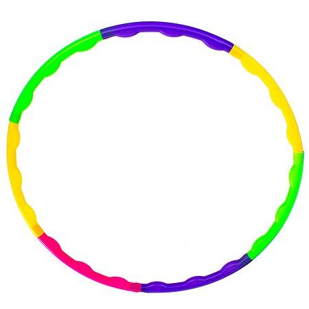 Обруч BRADEX разборный цветной пластиковый диаметр 55 см DE 1243