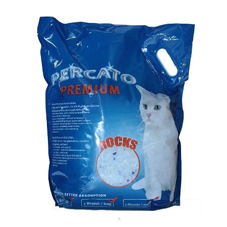 Наполнитель для кошек PERCATO силикагелевый 10л 04-46881