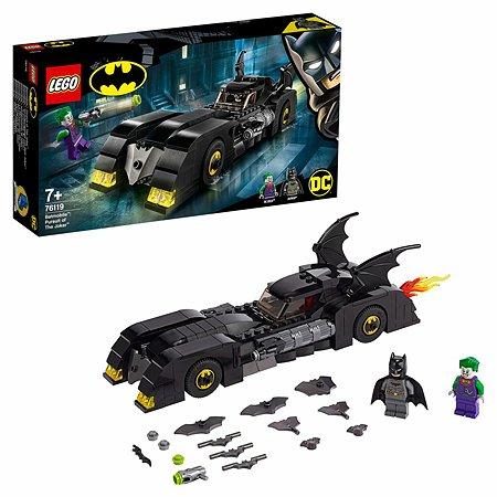 Конструктор LEGO DC Super Heroes Бэтмобиль Погоня за Джокером 76119