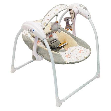 Электрокачели AMARO BABY Swinging Baby Cерый