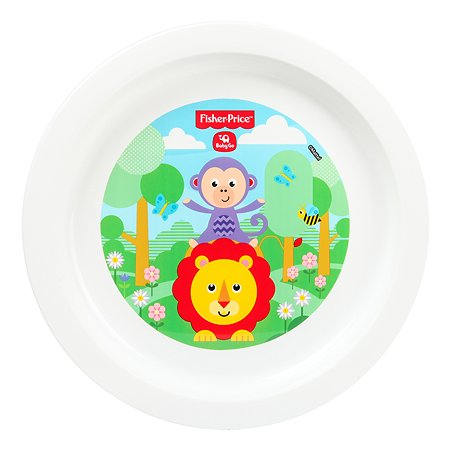 Тарелка Baby Go Fisher Price Green BD-14056-FP