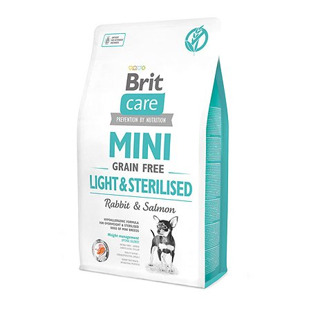 Корм для собак Brit Care с избыточным весом или стерилизованных сухой 2кг