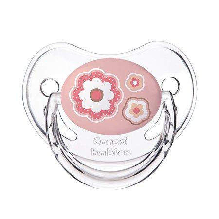 Пустышка Canpol Babies Newborn baby анатомическая 6-18месяцев Розовая