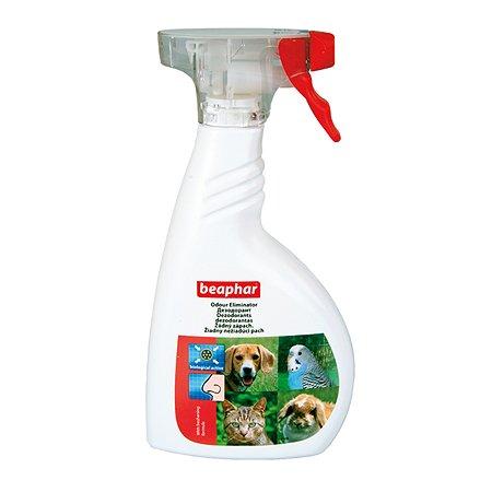 Спрей для собак и кошек Beaphar Odour Eliminator уничтожение запаха 400мл