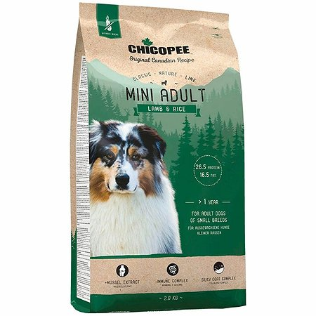 Корм для собак Chicopee CNL Mini ягненок-рис 2кг