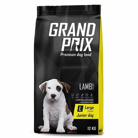 Корм для щенков Grand Prix Large Junior ягненок 12кг