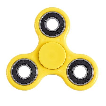 Спиннер Fidget Its для рук желтый, металлический подшипник Fidget Spinner FSPIN0042