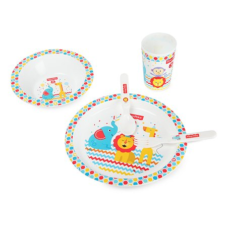 Набор посуды Baby Go Fisher Price 5предметов BD-45051