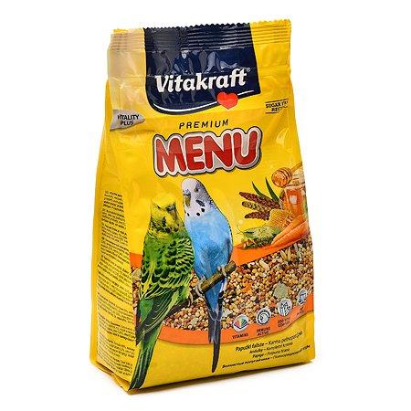 Корм для волнистых попугаев Vitakraft Menu основной 500г 10619