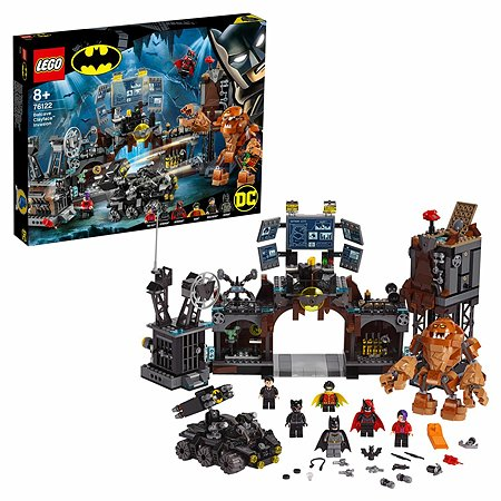 Конструктор LEGO DC Super Heroes Вторжение Глиноликого в бэт-пещеру 76122