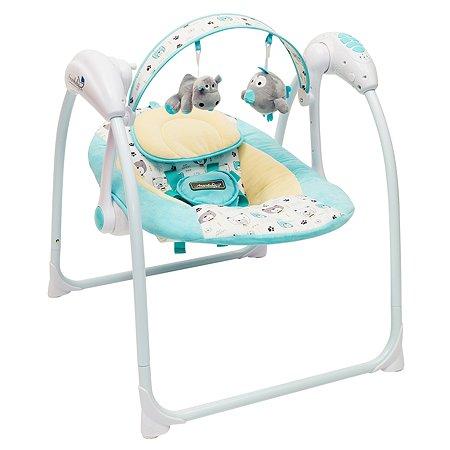 Электрокачели AMARO BABY Swinging Baby Бирюзовый