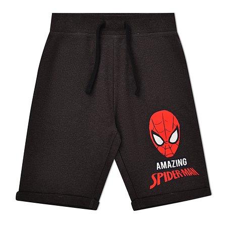 Шорты Spider-man тёмно-серые