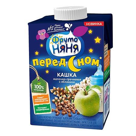 Кашка ФрутоНяня молочно-гречневая с яблоками 0.5л с 3лет