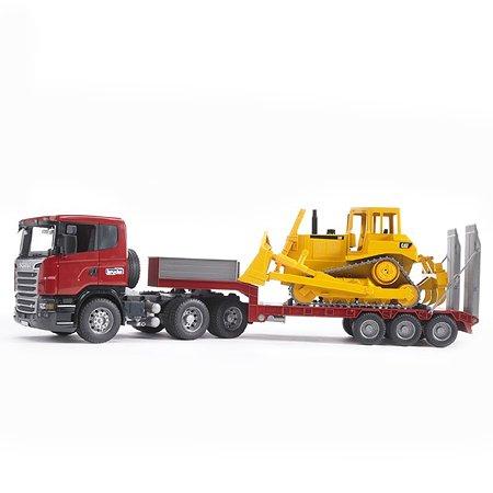 Тягач Bruder с прицепом Scania 03-555