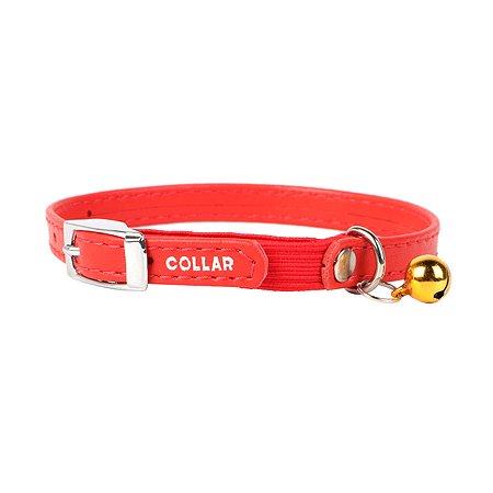 Ошейник для кошек CoLLar Glamour с резинкой Красный 32483