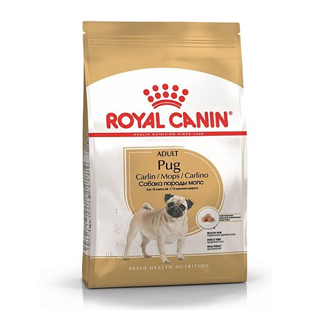Корм для собак ROYAL CANIN породы мопс 7.5кг
