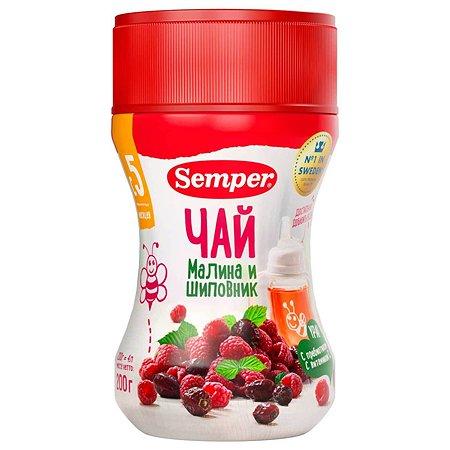 Чай Semper малина-шиповник гранулированный 200г с 5месяцев