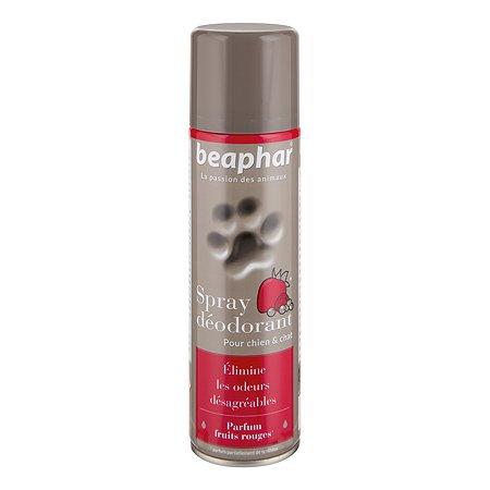 Спрей-дезодорант для собак и кошек Beaphar Sprey Deodorant с запахом фруктов 250мл
