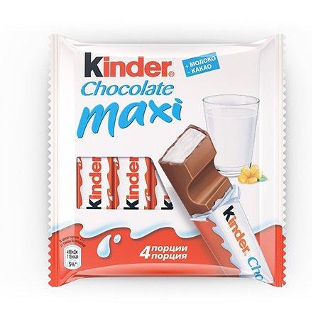 Шоколад Kinder Макси 4Х20