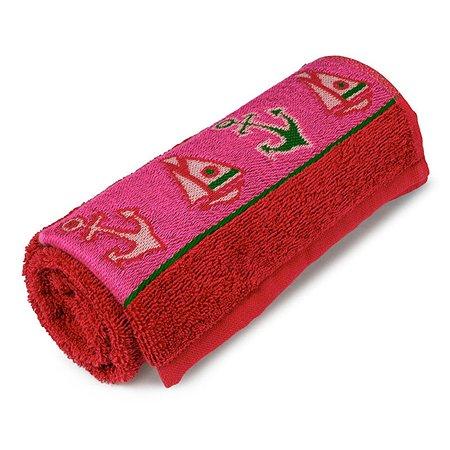 Полотенце Cleanelly Морской 70х120 цв.(красный хангер)