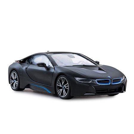 Машинка р/у Rastar BMW i8 отк.дверь 1:14 мат.черная