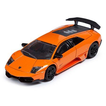 Машинка Rastar Murcielago LP 670-4 SV 1:43 Оранжевая