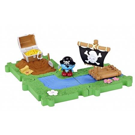 Мини-Домик Smurfs с  фигуркой Смурфика в ассортименте