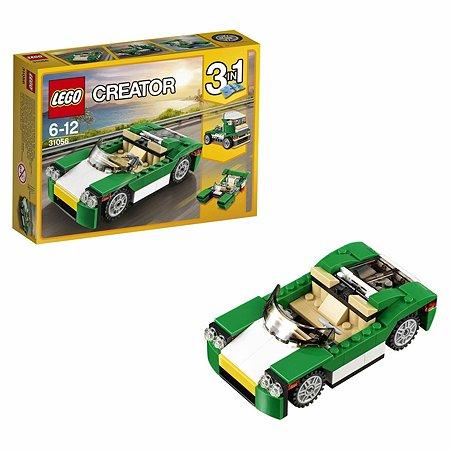 Конструктор LEGO Creator Зелёный кабриолет (31056)