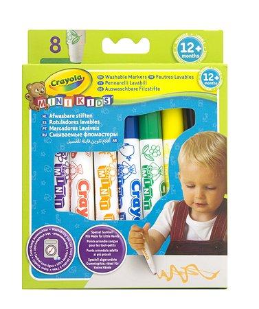 Фломастеры Crayola смываемые 8 шт