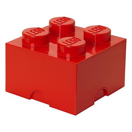 Система хранения LEGO 4 красный