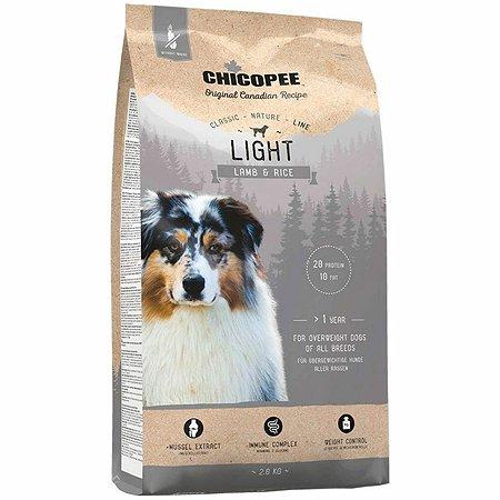 Корм для собак Chicopee CNL Light ягненок-рис 2кг