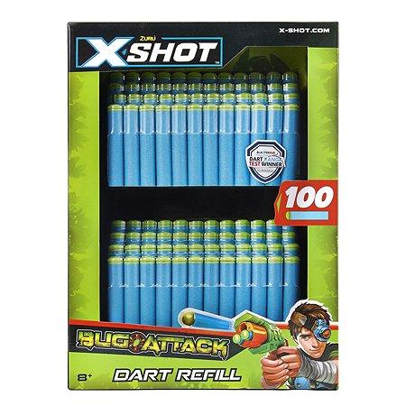 Набор X-SHOT Атака Жуков 100 дротиков 4829