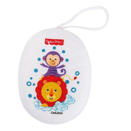 Губка для купания Baby Go Fisher Price Обезьянка и Львенок BD31108-FP