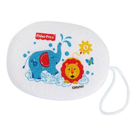 Губка для купания Baby Go Fisher Price Слоник и Львенок D31108-FP