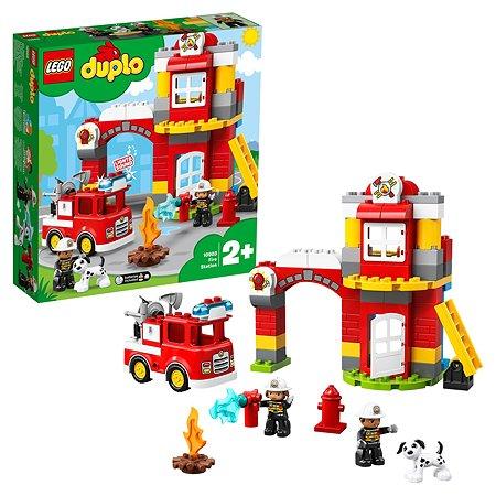 Конструктор LEGO DUPLO Town Пожарное депо 10903