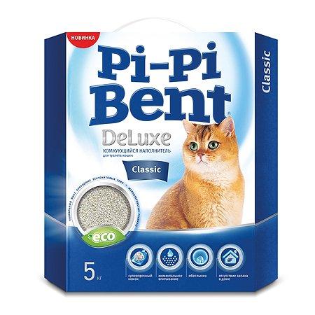 Наполнитель для кошек Pi-Pi-Bent комкующийся 5кг 81835