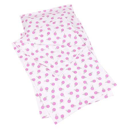 Комплект постельного белья AMARO BABY Best Friend Сладость 1.5спальный 3предмета Розовый
